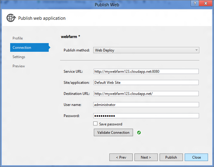 Publishing and Synchronizing Web Farms using Windows Azure Virtual